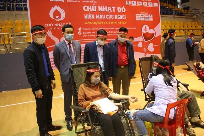 Chủ nhật đỏ tại Hà Tĩnh thu về 486 đơn vị máu