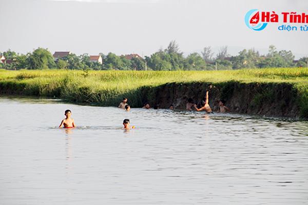 """Hà Tĩnh kêu gọi hưởng ứng """"Chiến dịch phòng, chống đuối nước trẻ em trong mùa mưa lũ"""""""
