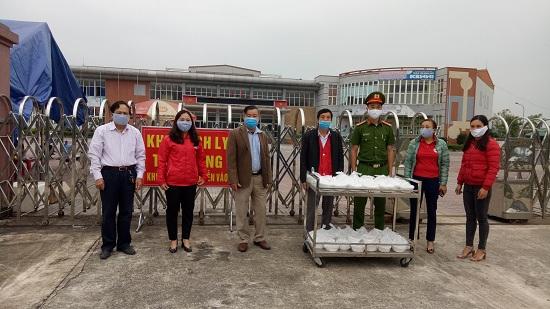 """Hội Chữ thập đỏ thị xã Hồng Lĩnh """"Tiếp sức"""" Phòng chống dịch, bệnh Covid-19"""