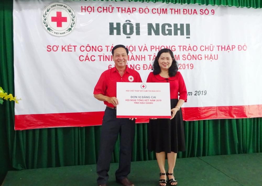 Cụm thi đua các tỉnh, thành Tây Nam Sông Hậu tổ chức hội nghị sơ kết công tác Hội và phong trào Chữ thập đỏ 6 tháng đầu năm 2019