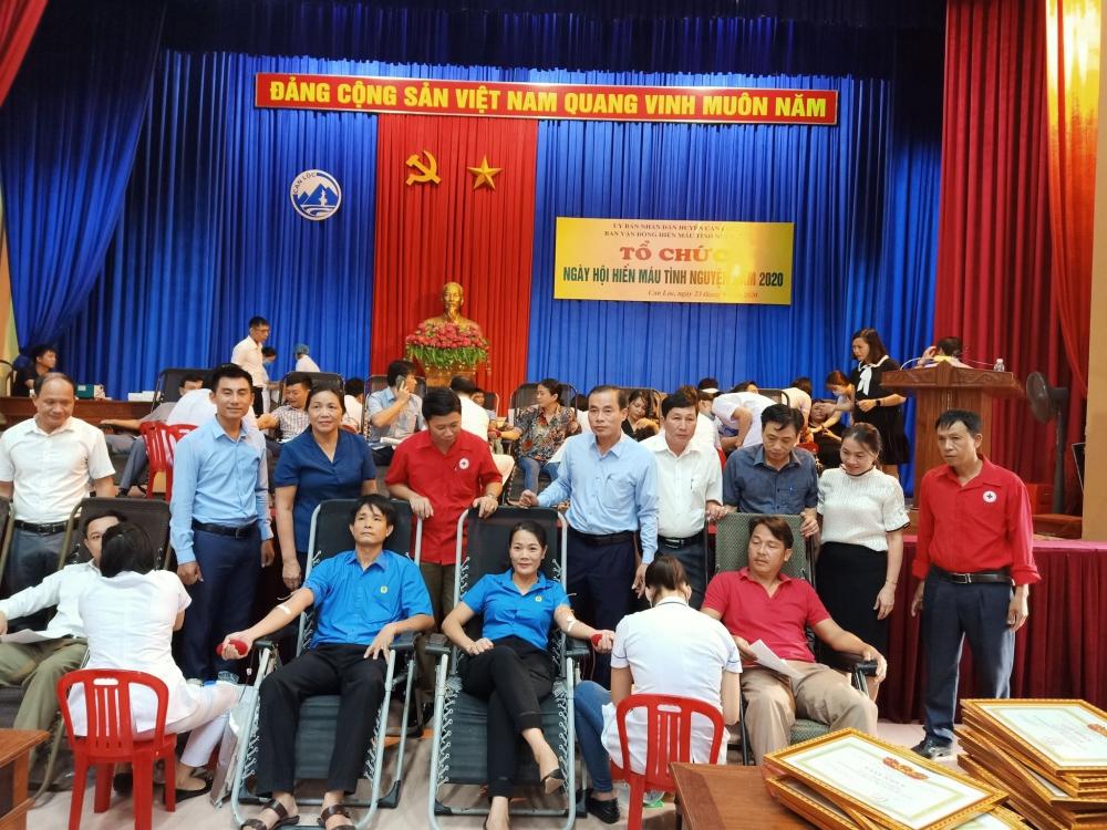 Can Lộc tổ chức ngày hội Hiến máu