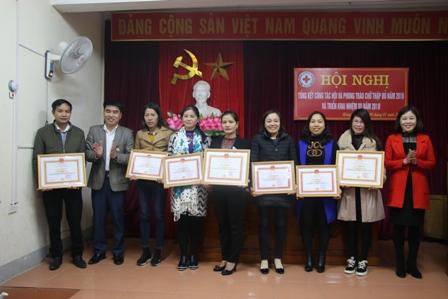 Hội Chữ thập đỏ thị xã Hồng Lĩnh: tổng giá trị hoạt động nhân đạo năm 2018 đạt hơn 3 tỷ đồng