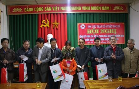 Công tác Hội và phong trào Chữ thập đỏ huyện Lộc Hà có nhiều chuyển biến tích cực