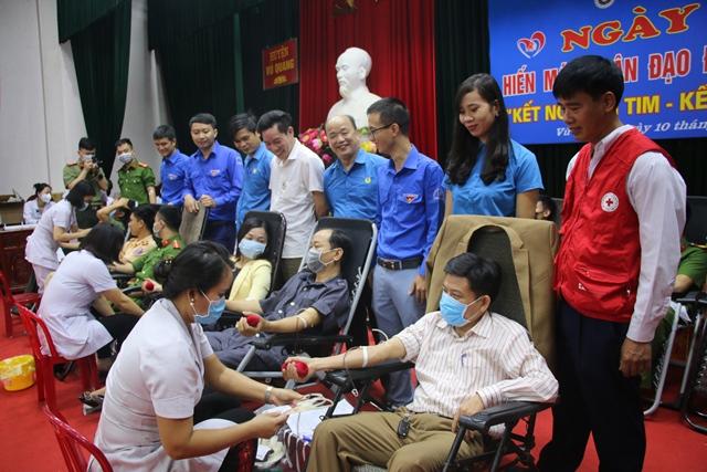 Vũ Quang tiếp nhận 155 đơn vị máu tại Ngày hội hiến máu tình nguyện đợt 1 năm 2020