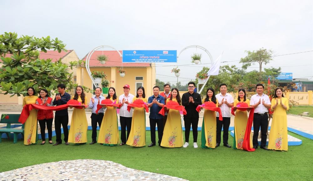 Thạch Hà khánh thành khu thư viện xanh tại trường Tiểu học Lý Tự Trọng, xã Việt Tiến