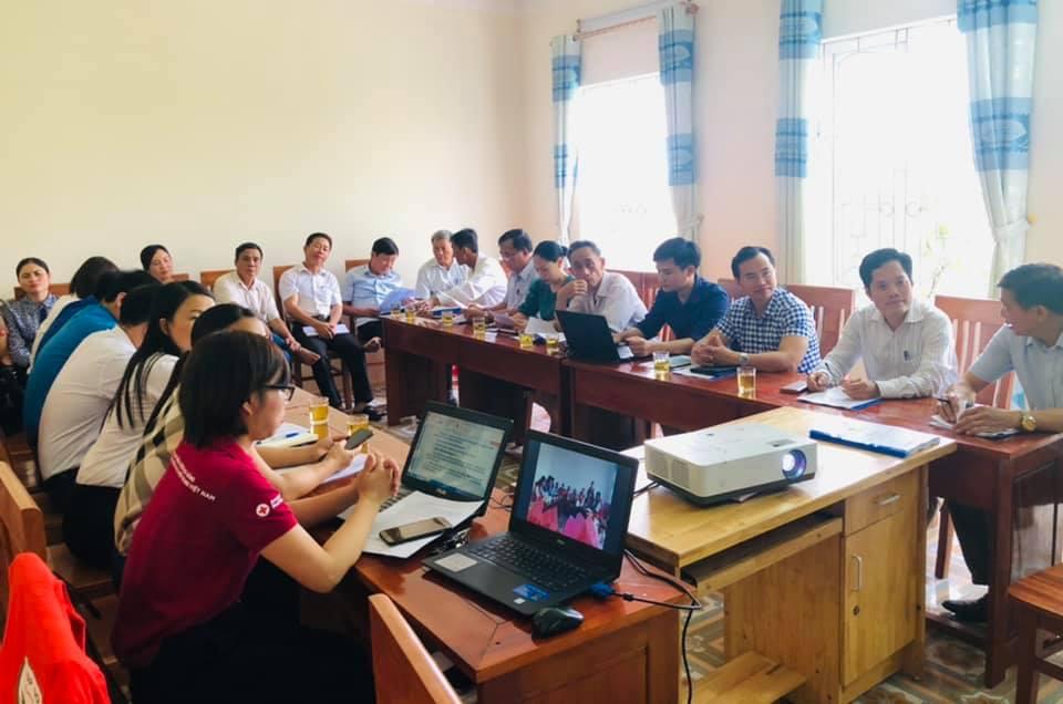 Thạch Hà  tổ chức Hội nghị đánh giá kết quả thực hiện công tác Hội và phong trào Chữ thập đỏ quý I, Triển khai nhiệm vụ quý II năm 2021