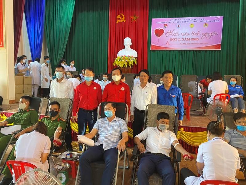 210 đơn vị máu được hiến tặng tại Ngày hội hiến máu tình nguyện huyện Kỳ Anh