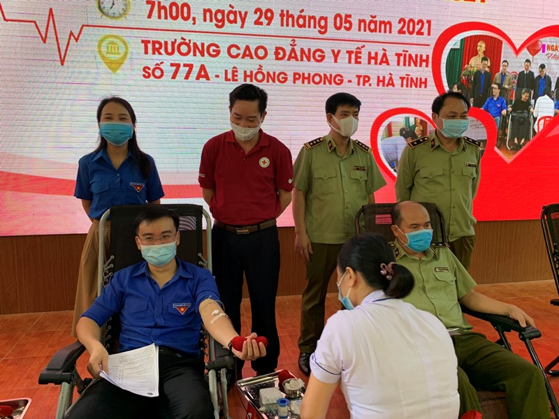 269 đơn vị máu được tiếp nhận tại Ngày hội hiến máu lần thứ nhất của Đoàn khối các cơ quan và doanh nghiệp tỉnh