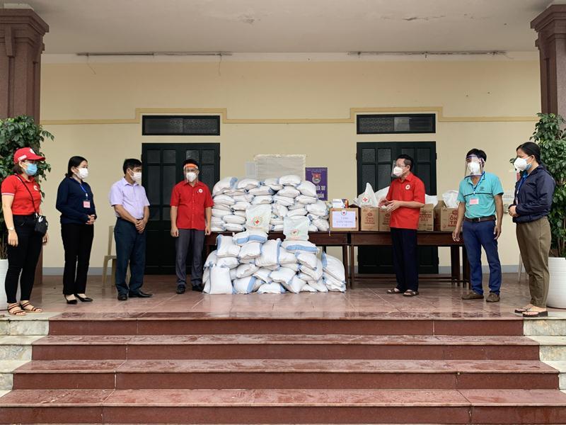 Hội Chữ thập đỏ tỉnh Hà Tĩnh kêu gọi hỗ trợ các đối tượng dễ bị tổn thương tại khu vực giãn cách và phong tỏa