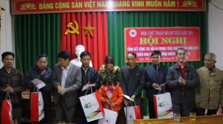 Công tác Hội và phong trào Chữ thập đỏ huyện Lộc Hà có...